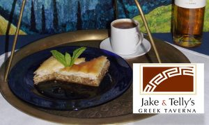 Jake and Telly's house-made baklava and Greek Coffee is a Greek example of an eastern Mediterranean staple