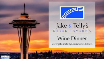 Jake and Telly's Wine Dinner